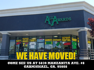 We have moved to 5839 Manzanita Ave. Carmichael, CA 95608